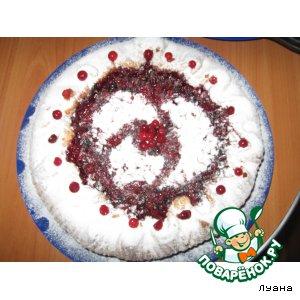 Рецепт Брусничный пирог