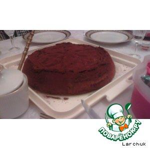 "Рецепт Торт ""Шоколадный шок"""