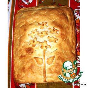 Рецепт: Пирог с картофелем