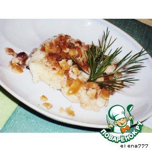 Рецепт Запечeнная рыба с арахисом