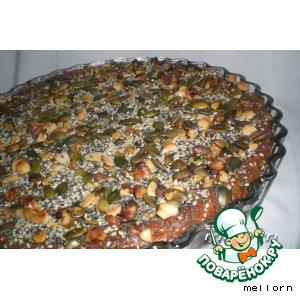 Творожно-сырная запеканка с орехами и семечками домашний рецепт приготовления с фотографиями