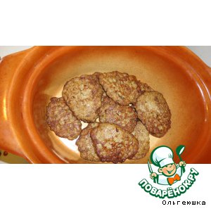 Рецепт Печеночные оладушки с грибами