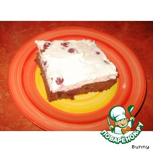 Рецепт Шоколадно-вишнeвый торт с корицей