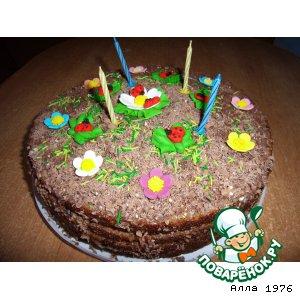 Торт с черносливом рецепт приготовления с фотографиями пошагово как готовить