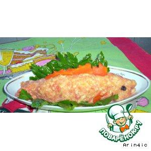 Рецепт Закусочный сыр из рыбы