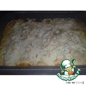 Рецепт Горбуша на овощной подушке