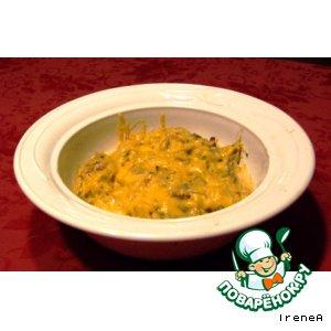 Рецепт Запеканка из кабачка-спагетти / Spagetti Squash