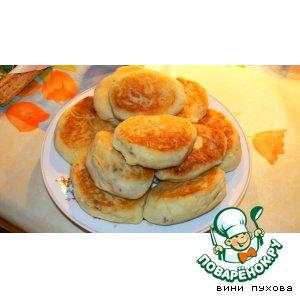 Рецепт Картофельные пирожки с яйцом и гречкой