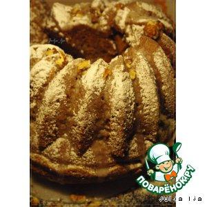 Рецепт Имбирно-медовый кекс с грецкими орехами