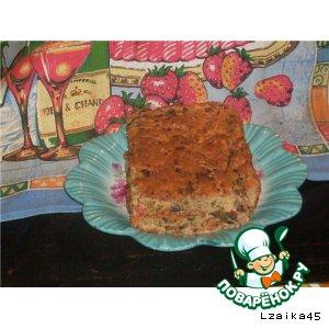Готовим простой рецепт с фото Закусочный пирог