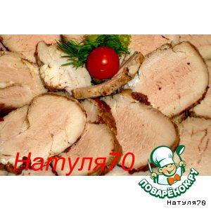 Пастрома из свиной вырезки