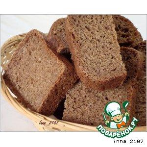 Рецепт Ржаной  хлеб с овсяными хлопьями