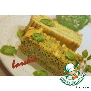 Рецепт Паштет из макарон с брокколи