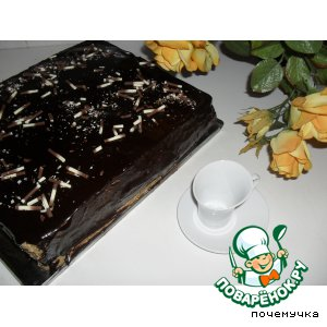 """Рецепт Торт """"Черная роза"""""""