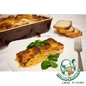 Рецепт Куриное филе с вялеными помидорами, беконом и моцареллой