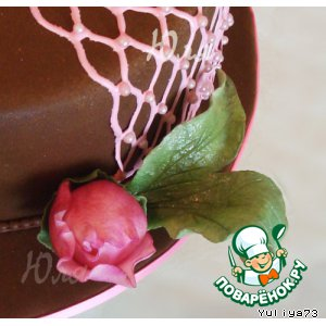 Рецепт Листочки для цветочков  из сахарной мастики