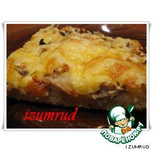 Рецепт Быстрый грибной торт