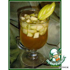 Рецепт Ароматный яблочный чай