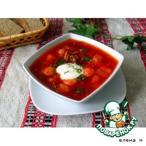 борщ по беларуски рецепт