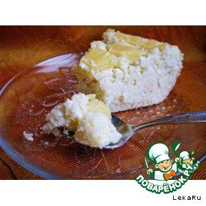 Рецепт Творожный десерт с ананасом