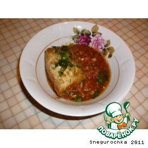 Рецепт Треска в пряном томатном соусе