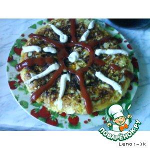 Рецепт Овощной тортик