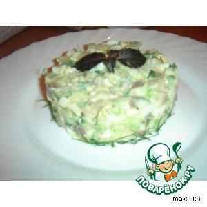 Рецепт Салат из сельди с авокадо