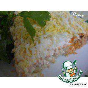 Рецепт Салат лососевый