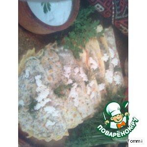 Рецепт Кутабы с зеленью