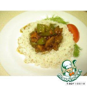 Рецепт Курица по-китайски в кисло-сладком соусе