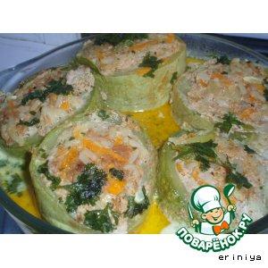 Рецепт Кабачки морские