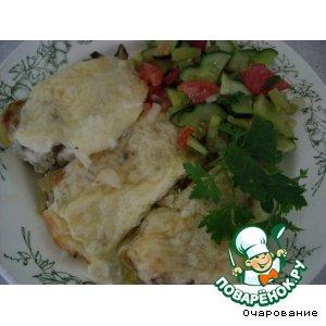 Рецепт Сладкий перец, фаршированный хеком
