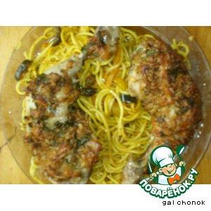 Рецепт Курица, запеченная с сыром