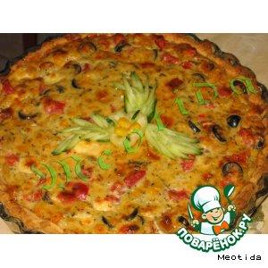 Рецепт Киш с овощами