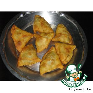 Рецепт Самоса по- индийски