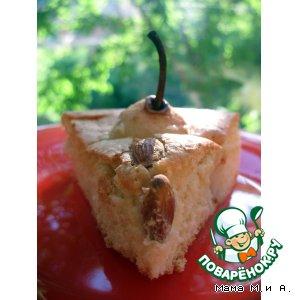 Рецепт Грушевый бисквит «с хвостиками»
