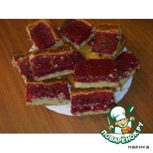 Рецепт Песочный пирог с крыжовником