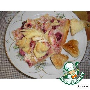 Сладкая пицца вкусный пошаговый рецепт с фото как приготовить