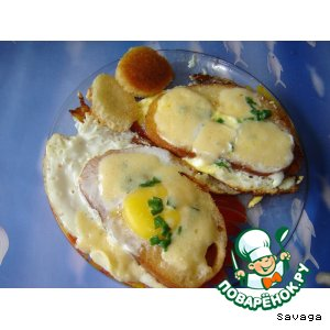 Рецепт Завтрак холостяка