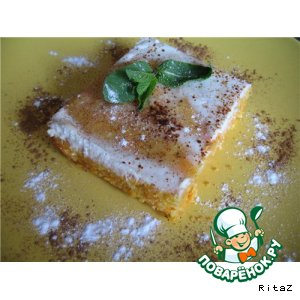 Рецепт Морковно-творожная запеканка