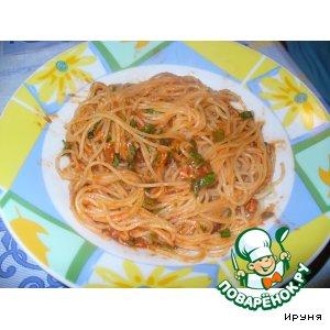 Рецепт Спагетти на итальянский манер
