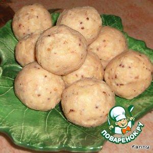 Рецепт Сырно-рыбные шарики