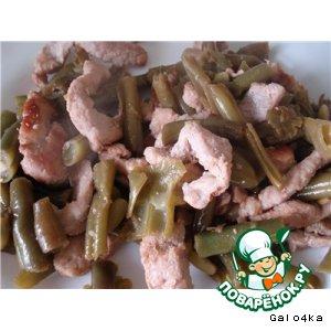 Рецепт Зеленая фасоль по-китайски