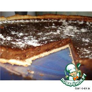 Шоколадный тарт простой пошаговый рецепт с фотографиями как приготовить