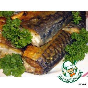 Рецепт Филе скумбрии с сыром