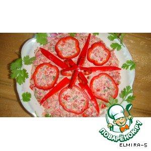Рецепт Салат из красного перца