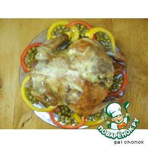 Рецепт Цыплята, фаршированные рисом