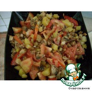 Рецепт Салат со шпротами