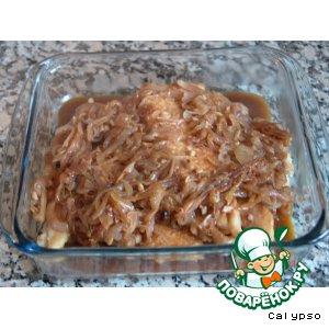 Рецепт Рыбное филе под соусом Ешкабеш
