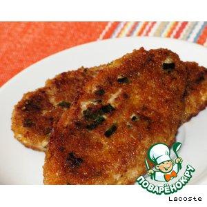 Рецепт Куриные котлетки с сыром и грецким орехом